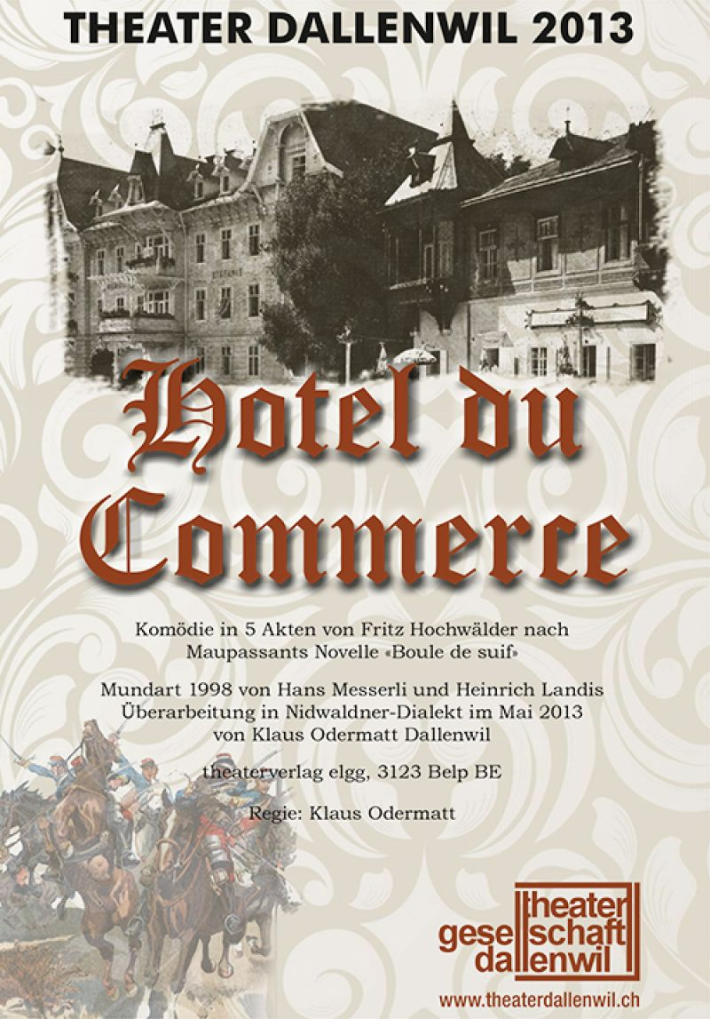 2013 - Hotel du Commerce